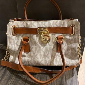 Michael Kors Vanilla Shoulder Handbag